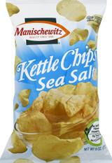 Manischewitz Sea Salt Kettle Chips, 170g