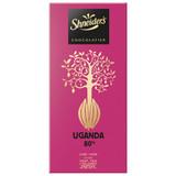 Shneider's Uganda 80% Dark Chocolate, 100g