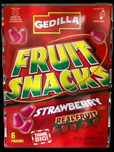 Gedilla Fruit Snacks Strawberry, 153G