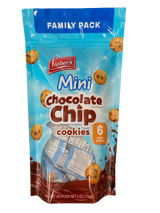 Lieber's Mini Chocolate Chip Cookies Family Pack, 170g