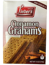 Lieber's Cinnamon Grahams Crackers, 210g