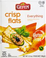 Gefen Crisp Flats Everything, 150g