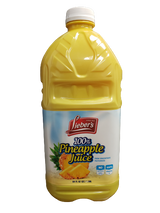 Lieber's 100% Pineapple Juice, 1.89l