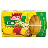 Lieber's Fruit Cups 4pk, 452g