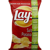 Lays Salted Potato Chips, 170g