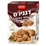 Meshubach Dganios Cereals with Chocolate Filling, 200g