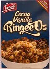 Lieber's Cocoa Vanilla Ringeeos, 155g