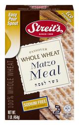 Streit's Whole Wheat Matzo Meal, 454g