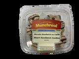 Munchreal Heart Sandwich Cookies, 227g