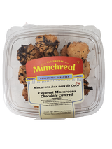 Munchreal Chocolate Covered Coconut Macaroons, 283g
