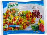Kosher Taste Mixed Diced Peppers, 453g