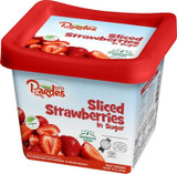Pardes Sliced Strawberries in Sugar, 453g