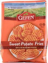 Gefen Waffle Cut Sweet Potato Fries, 539g