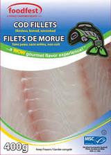 Foodfest Cod Fillets, 400g