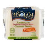 Haolam American Pasteurized Process Cheese Food, 16pk