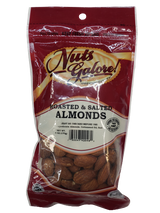 Nuts Galore! Roasted & Salted Almonds, 170g
