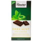 Schmerling's Dark Mint 72% Cocoa Chocolate Bar, 100g