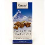 Schmerling's Swiss Milk Hazelnuts Chocolate Bar, 100g
