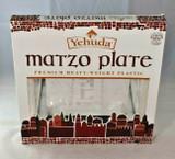 Yehuda Premium Heavy-Weight Plastic Matzo Plate