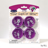 Rite Lite Four Cups of Slime Passover Toy