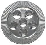 Cazenov Foil Look Seder Plate