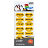 The Kosher Cook Pesach Removable Stickers, 18pk