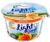 Gevina Peach Greek Yogurt, 142G
