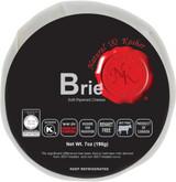 Natural & Kosher Brie Soft-Ripened Cheese, 7 Oz