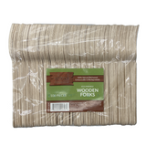 Wood Collection Wooden Forks (100 Count)