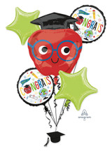 Anagram Future Dreams Balloon Bouquet, 5pk