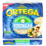 Ortega Cauliflower and Flour Tortillas, 8PCS