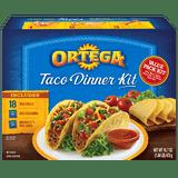 Ortega Taco Dinner Kit 18CT