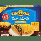 Ortega Taco Shells Regular 18CT