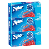 Ziploc Large Freezer Bags, 3 packs of 50pcs