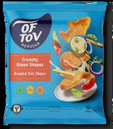 Of Tov Crunchy Ocean Shapes Breaded Fish, 20 oz