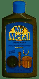 Mr. Metal Polish, 8 Oz