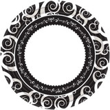 """10.25"""" Classic Medley Paper Plate 18 Count"""