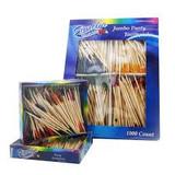 Frill toothpicks
