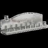 Ner Mitzvah Tin Candle Menorah (Silver)