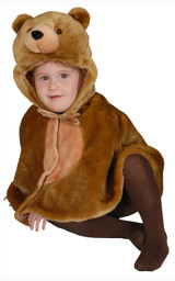 Cuddly Little Brown Bear Costume Set