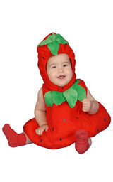 Baby Strawberry Costume Set