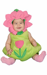 Dazzling Baby Flower Costume Set