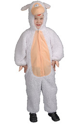 Plush Lamb Costume