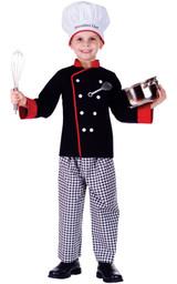 Executive Boy Chef Costume