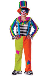 Adult Jolly Clown Costume