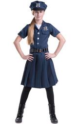Girl's Police Officer Costume