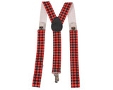 Diamond Checkerboard Suspenders