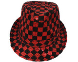 Red Checkerboard Hat