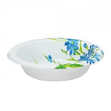 12 OZ Blue Floral Paper Bowl - 35 count