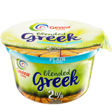 GEVINA 2% PLAIN GREEK YOGURT 150G